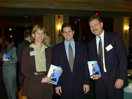 Rebecca Nelson-Austin Chamber of Commerce, Michael Dell, and Russ Finney
